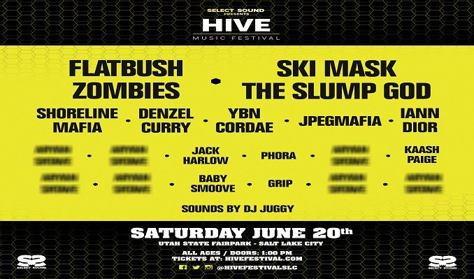 HIVE Music Festival tickets at Utah State Fairpark in Salt Lake City