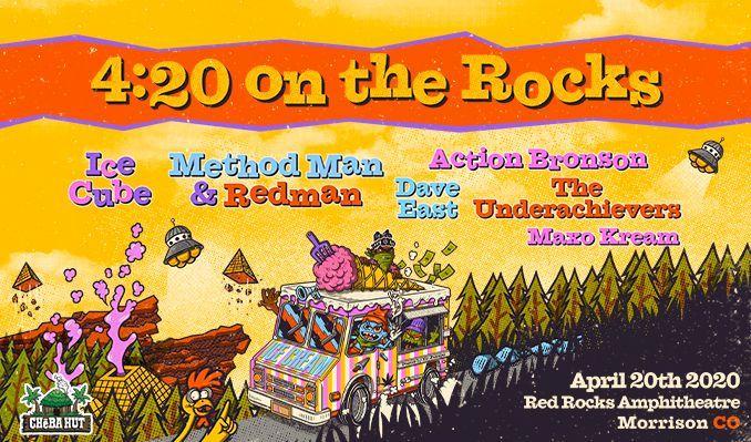 Ice Cube / Method Man & Redman / Action Bronson - POSTPONED tickets at Red Rocks Amphitheatre in Morrison
