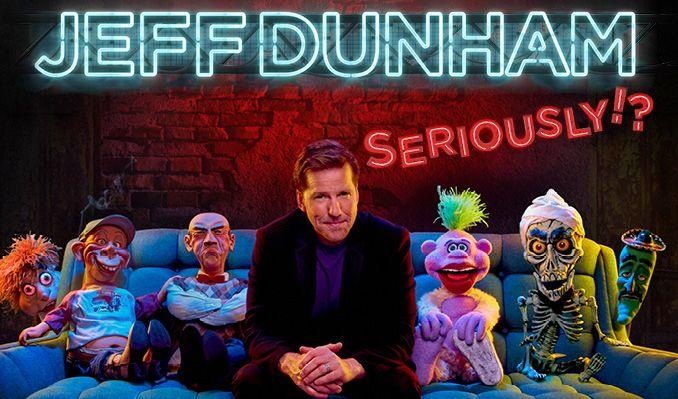 Jeff Dunham tickets at HOVET/Stockholm Live in Stockholm