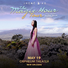 Jhené Aiko tickets at Orpheum Theater in New Orleans