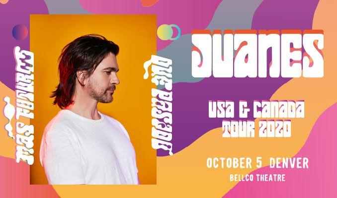 Juanes tickets at Bellco Theatre in Denver