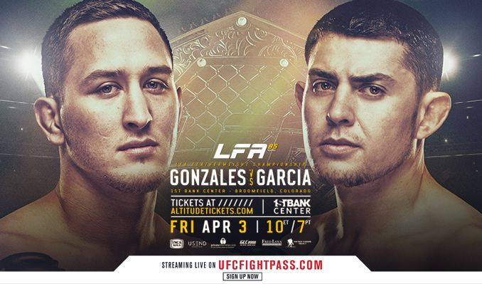 LFA: Legacy Fighting Alliance - POSTPONED tickets at 1STBANK Center in Broomfield