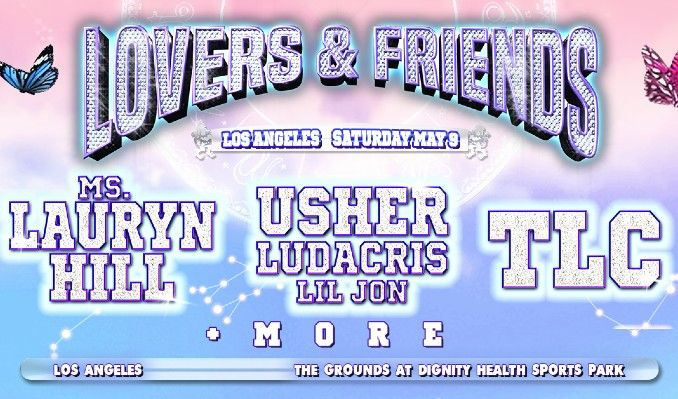 Lovers & Friends tickets at Dignity Health Sports Park in Carson