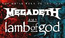 Megadeth and Lamb of God tickets at T-Mobile Center in Kansas City