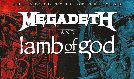 Megadeth and Lamb Of God tickets at Mandalay Bay Events Center in Las Vegas