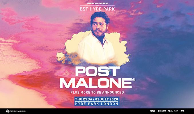 Post Malone tickets at Hyde Park in London