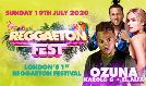 Reggaeton Fest tickets at The O2 in London