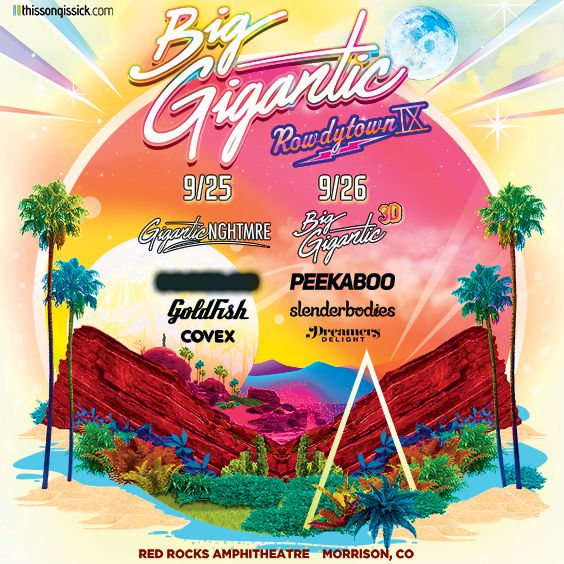 Image for ROWDYTOWN IX: Big Gigantic