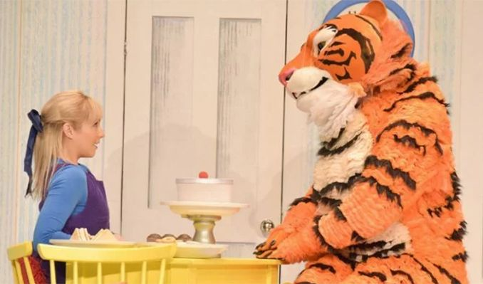 The Tiger Who Came to Tea - Booking until 6 September tickets at Theatre Royal Haymarket in London