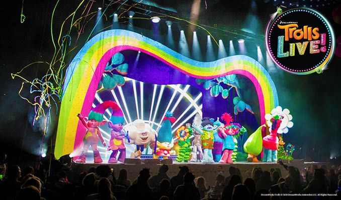 Trolls Live! (August 2/ 10AM )  tickets at Microsoft Theater in Los Angeles