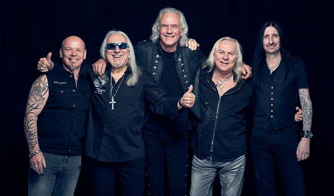 Uriah Heep tickets at Glasgow Royal Concert Hall, Glasgow