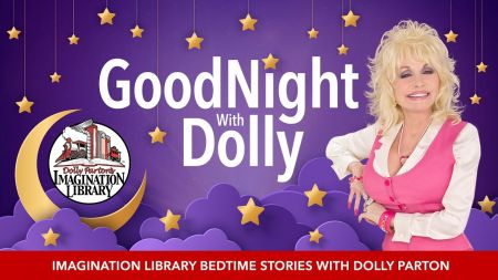 Dolly Parton to read children's stories in 'Goodnight With Dolly' series on YouTube