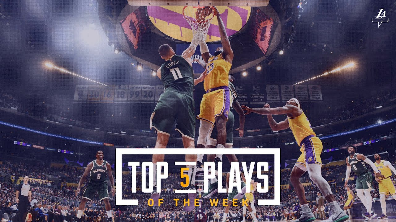 The best Los Angeles Lakers plays from the 2019-2020 season (so far)