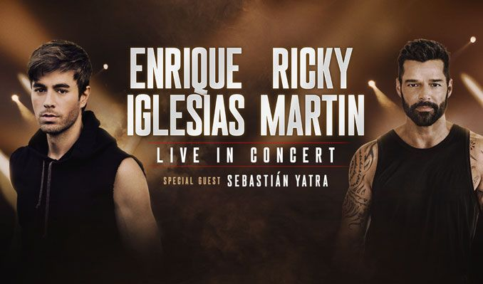 Enrique Iglesias & Ricky Martin at STAPLES Center tickets