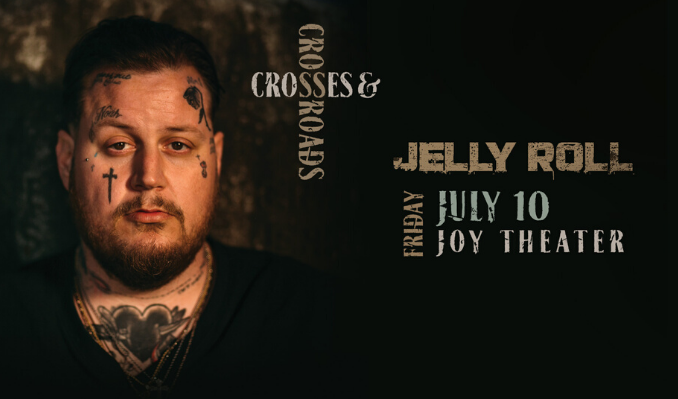 Jelly Roll tickets at Joy Theater in New Orleans