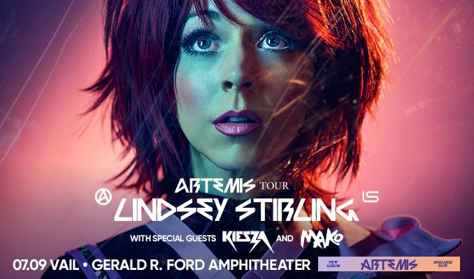 Lindsey Stirling – Artemis Tour tickets at Gerald R. Ford Amphitheater in Vail