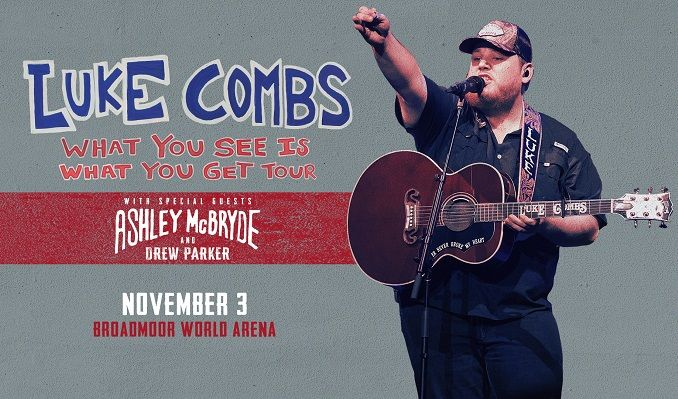 Luke Combs tickets at Broadmoor World Arena in Colorado Springs
