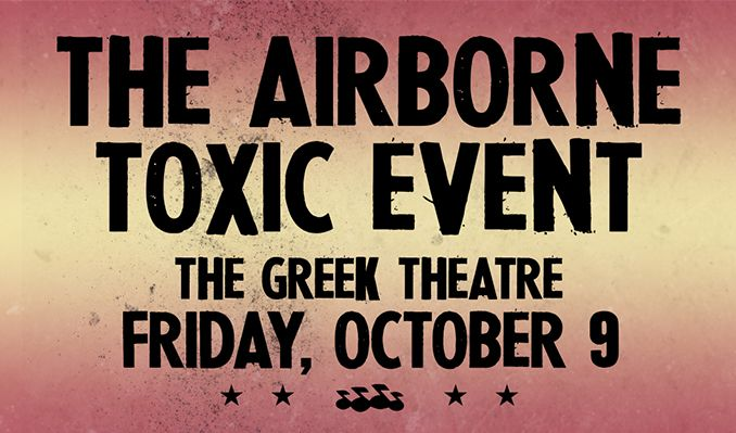 The Airborne Toxic Event tickets at The Greek Theatre in Los Angeles