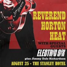 Reverend Horton Heat tickets at Stanley Hotel in Estes Park