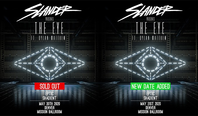SLANDER PresentsThe Eye Ft. Dylan Matthew tickets at Mission Ballroom in Denver