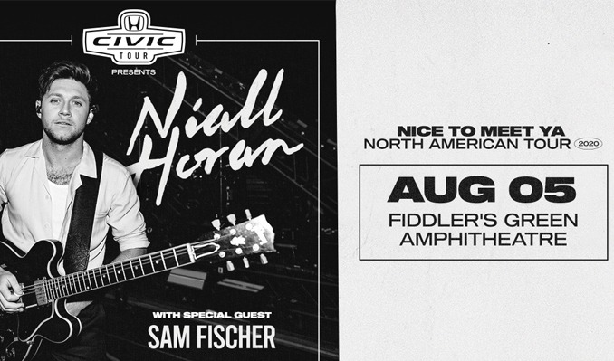 Niall Horan tickets at Fiddler's Green Amphitheatre in Greenwood Village