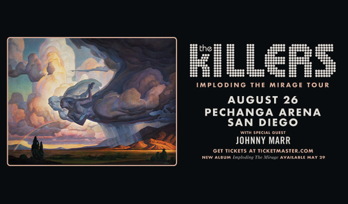The Killers tickets at Pechanga Arena San Diego in San Diego