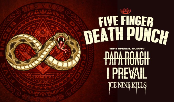 Five Finger Death Punch tickets at Red Rocks Amphitheatre in Morrison