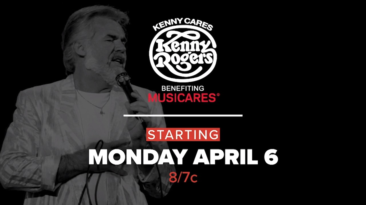 AXS TV celebrates Kenny Rogers with classic concerts airing April 6-12, benefiting MusicCares COVID-19 Artist Relief Fund