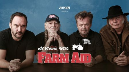 AXS TV-produced special 'At Home with Farm Aid' raises $500,000 for farmers impacted by coronavirus