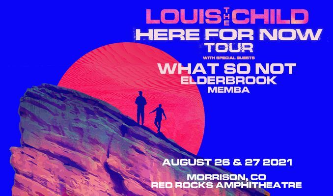 Louis The Child 8/26/21 tickets at Red Rocks Amphitheatre in Morrison