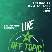 Off Topic Live tickets at El Rey Theatre in Los Angeles