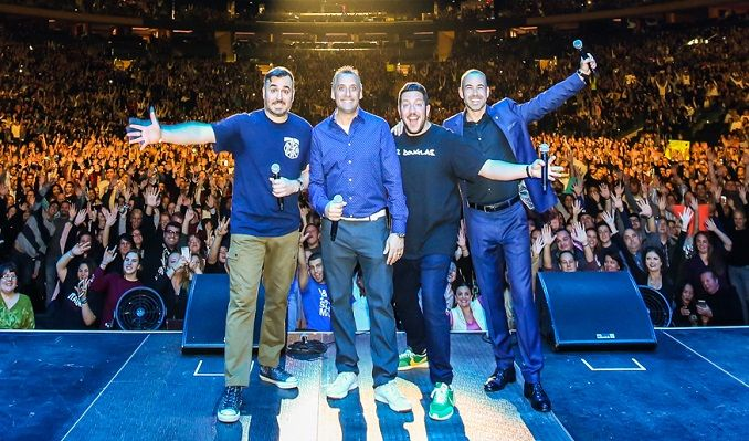 truTV Impractical Jokers 'The Scoopski Potatoes Tour' Starring The Tenderloins tickets at Sprint Center in Kansas City