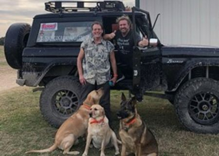 AXS TV's 'Rock & Roll Road Trip' sneak peek: Ted Nugent and Sammy Hagar go off-roading on May 3