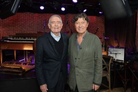 AXS TV's 'Big Interview' sneak peek: Robbie Robertson talks pioneering Americana in Sammy Davis Jr's pool house on May 6