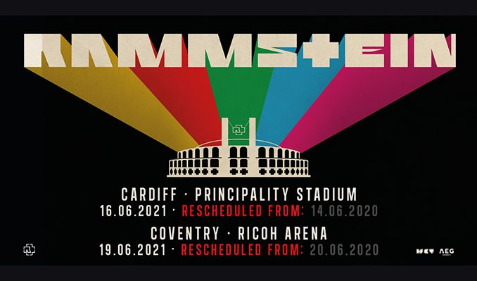 Rammstein - RESCHEDULED  tickets at Cardiff Principality Stadium in Cardiff
