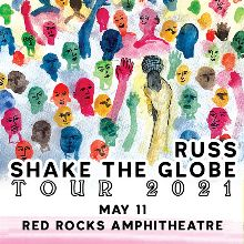 Russ tickets at Red Rocks Amphitheatre in Morrison