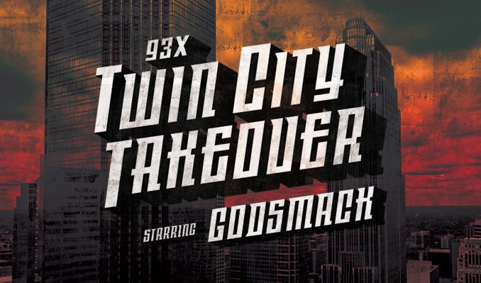 TWIN CITY TAKEOVER FEAT. Godsmack  tickets at Target Center in Minneapolis