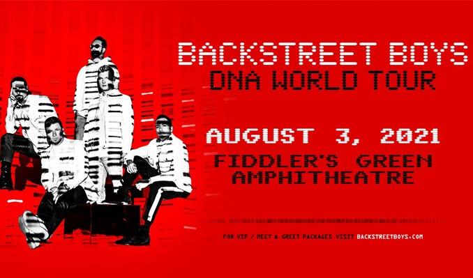 Backstreet Boys tickets at Fiddler's Green Amphitheatre in Greenwood Village