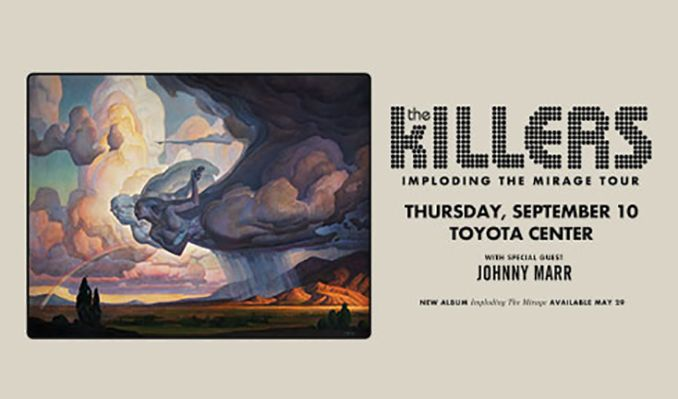 The Killers tickets at Toyota Center in Houston