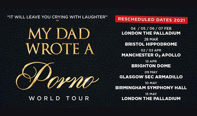 My Dad Wrote A Porno - RESCHEDULED  tickets at Brighton Dome Concert Hall in Brighton