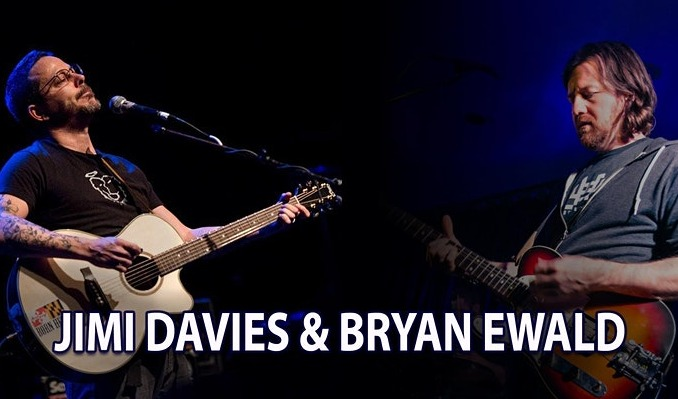 Jimi Davies & Bryan Ewald tickets at Rams Head On Stage in Annapolis