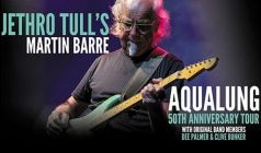 Martin Barre of Jethro Tull with Original Members Dee Palmer & Clive Bunker