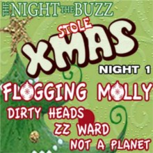 The Night The Buzz Stole Xmas schedule, dates, events, and tickets ...